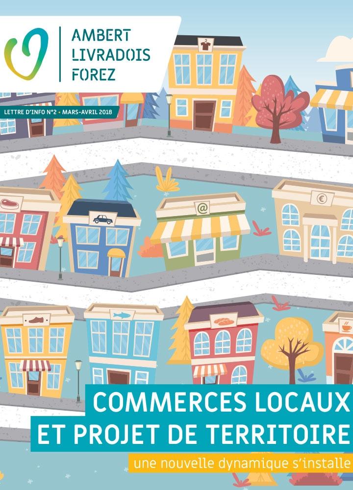 Lettre d'info n°2 – Commerces locaux et projets de territoire