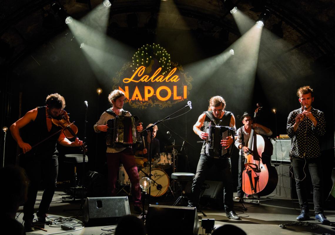 Festival du Volcan du Montpeloux «Lalala Napoli»