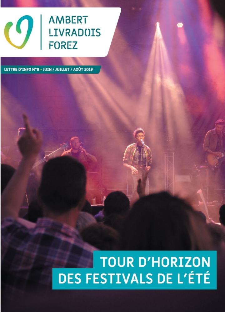 Lettre d'info N°8  – Tour d'horizon des festivals de l'été