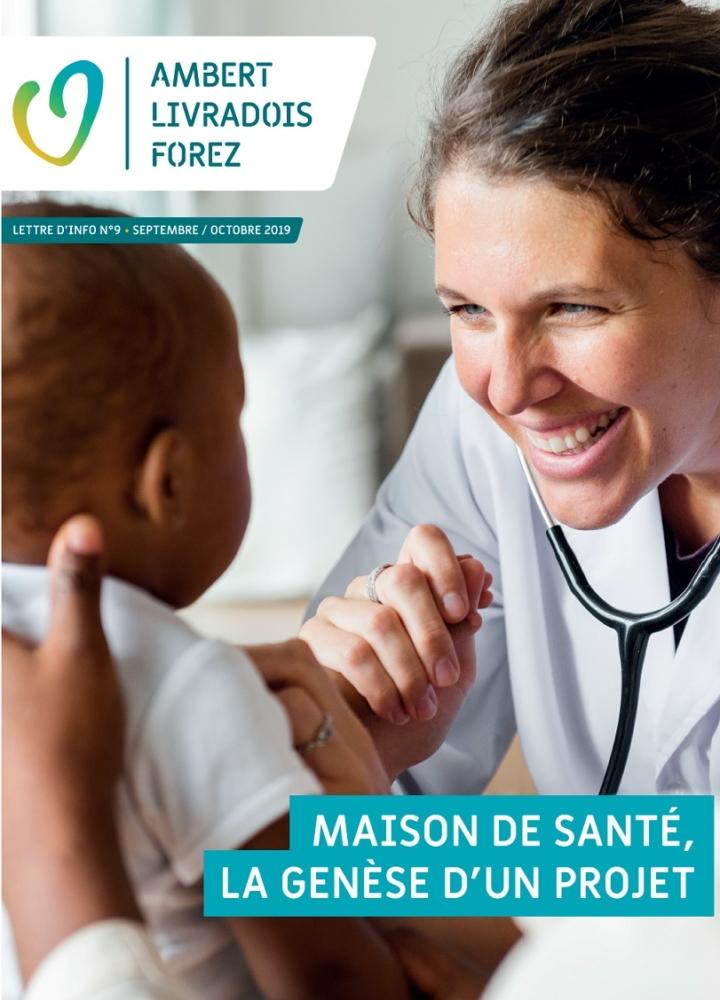 Lettre d'info N°9 – Maison de santé, la genèse d'un projet