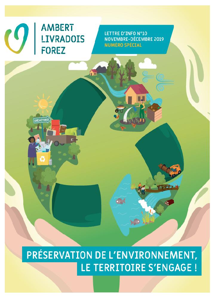 Lettre d'info N°10 – préservation de l'environnement, le territoire s'engage