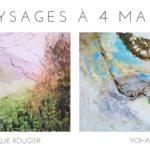 Exposition «Paysages à 4 mains»