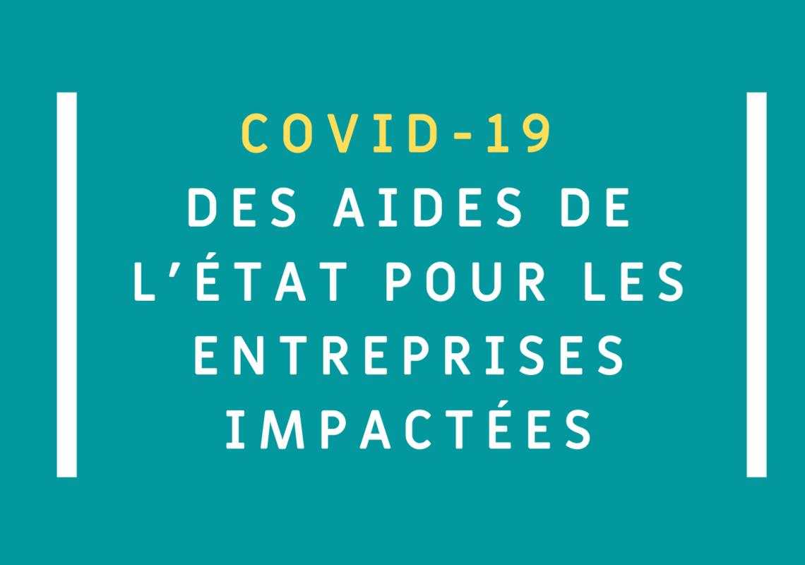 COVID-19 : l'état propose une aide financière aux entreprises ayant perdu plus de 50% de leur chiffre d'affaire