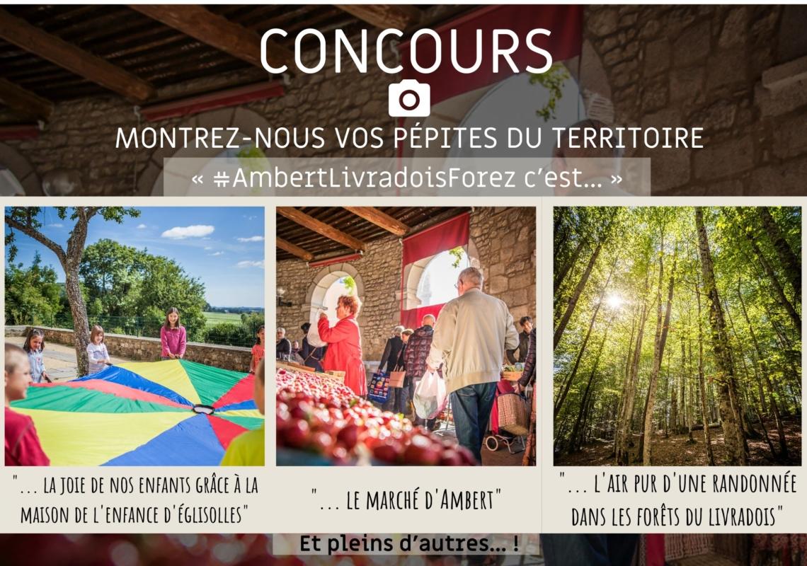 Les Lauréats du concours photo «#Ambertlivradoisforez c'est…» sont…