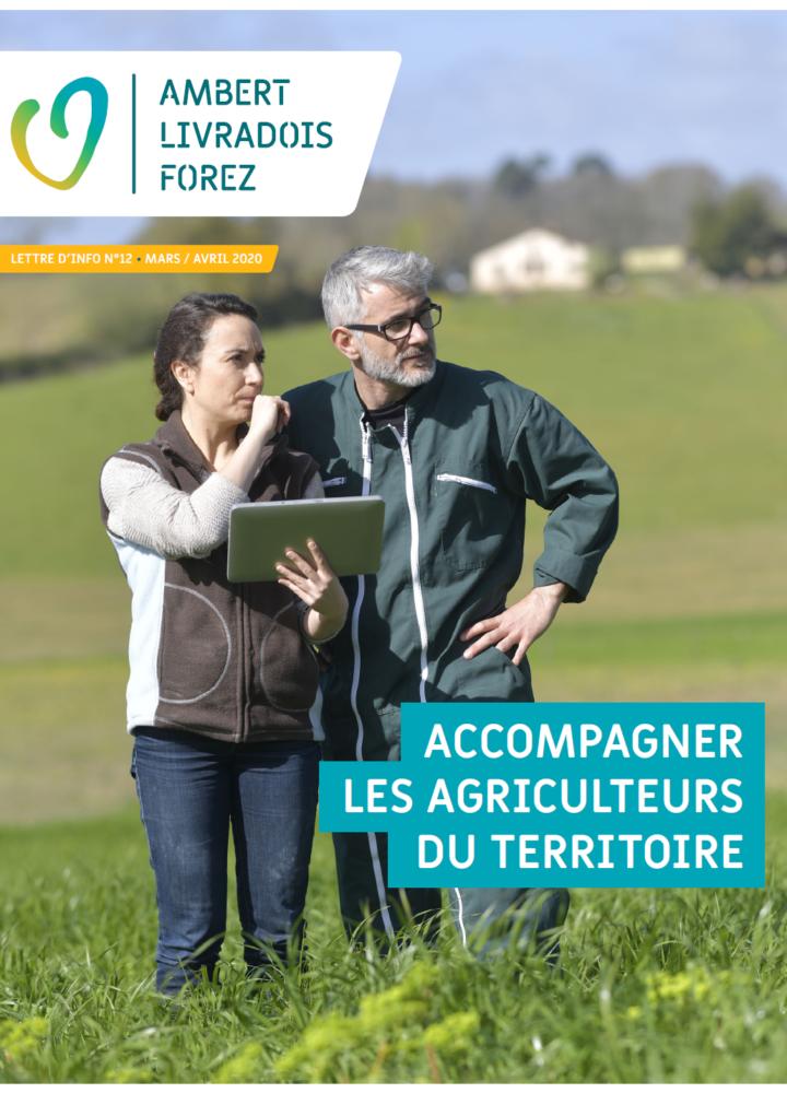 Lettre d'info N°12 : Accompagner les agriculteurs du territoire